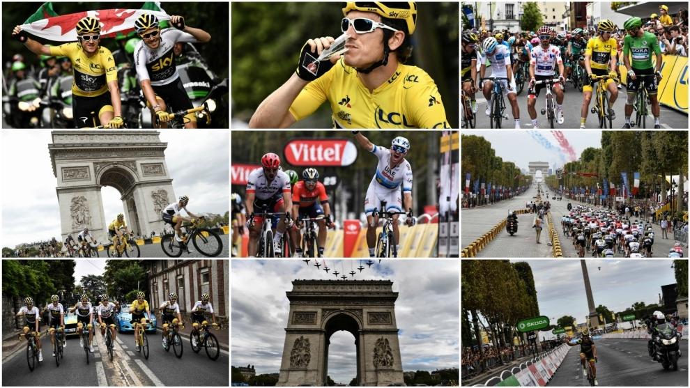 Final stage of the Tour de France