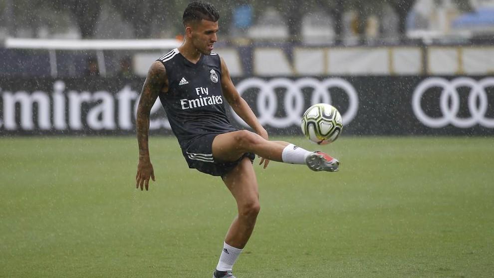 Real Madrid midfielder Dani Ceballos