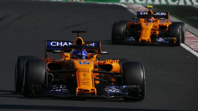 Alonso y Vandoorne.