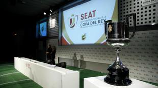 Imagen de un sorteo de la Copa del Rey.
