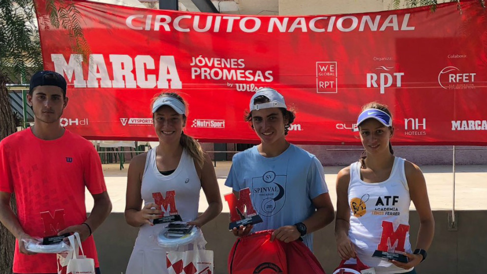Campeones y finalistas del MARCA Promesas del C.T. El Collao