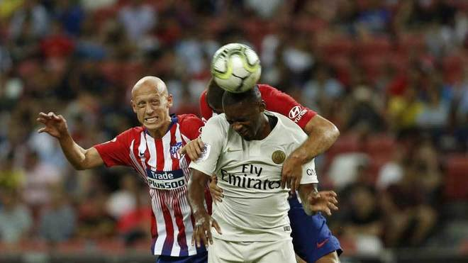 Atletico's experimental side went down 3-2 against PSG