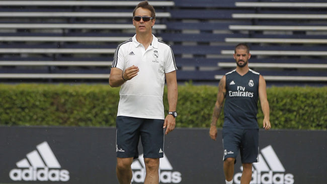 Lopetegui: As a coach, it's an exciting challenge to create a strong team without Ronaldo