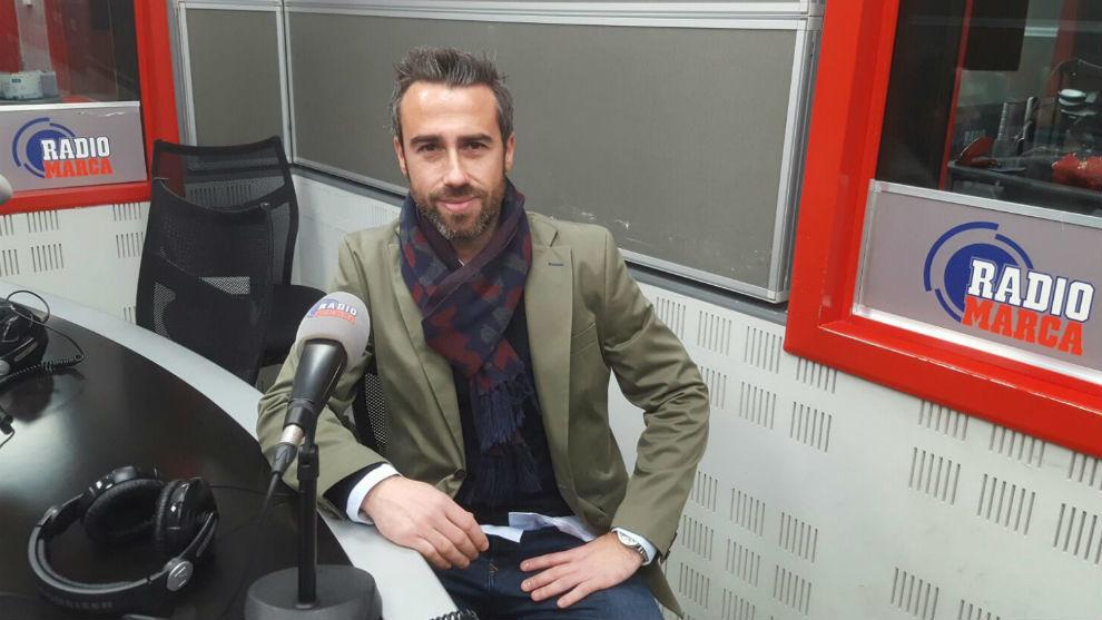 Jorge Vilda durante una entrevista en Radio MARCA.