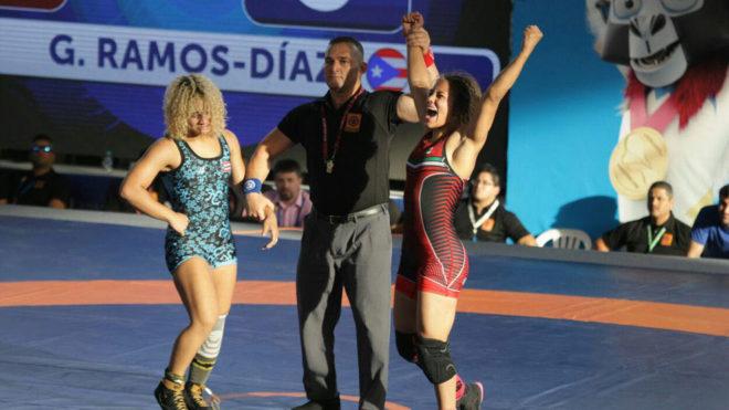 Rita Rojas gana el bronce.