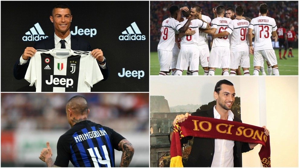 Football Italy Serie A Once Again A Transfer Market Superpower