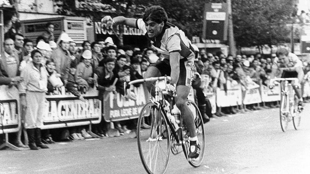Andreas Kappes, ganador de la quinta etapa de la Vuelta a Andalucía...