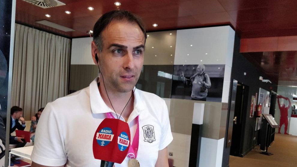 López Vallejo en los micrófonos de Radio MARCA.