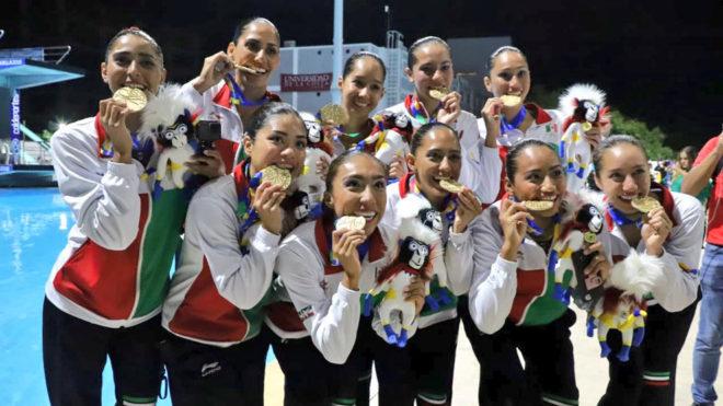 La delegación mexicana llegó a 110 medallas de oro.