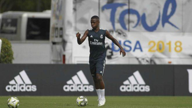 Real Madrid starlet Vinicius