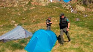 La campaña de vigilancia evitará la acampada ilegal