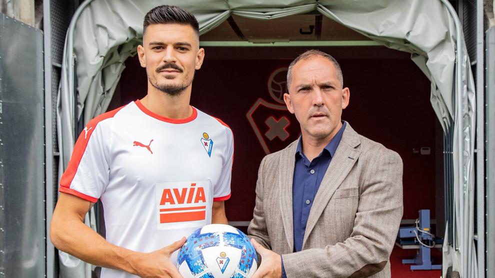Sergio Álvarez fue presentado como nuevo jugador de la SD Eibar.