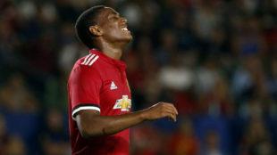 Martial, con el United.