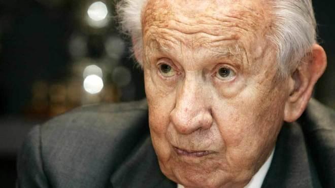 Juan Antonio Samaranch, durante una entrevista.