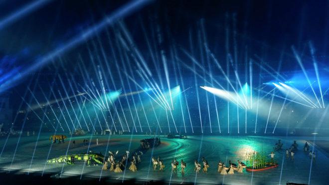 Ceremonia de Apertura en Barranquilla 2018