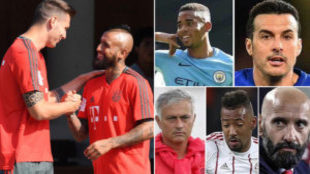 LIVE: Fight for Boateng, Vidal's imminent move and news on Gabriel Jesus
