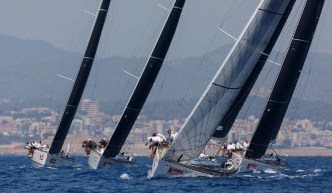 La flota de los Swan 45, la más igualada en la Copa del rey MAPFRE