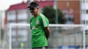 Osorio, con la selección mexicana en el Mundial 2018.