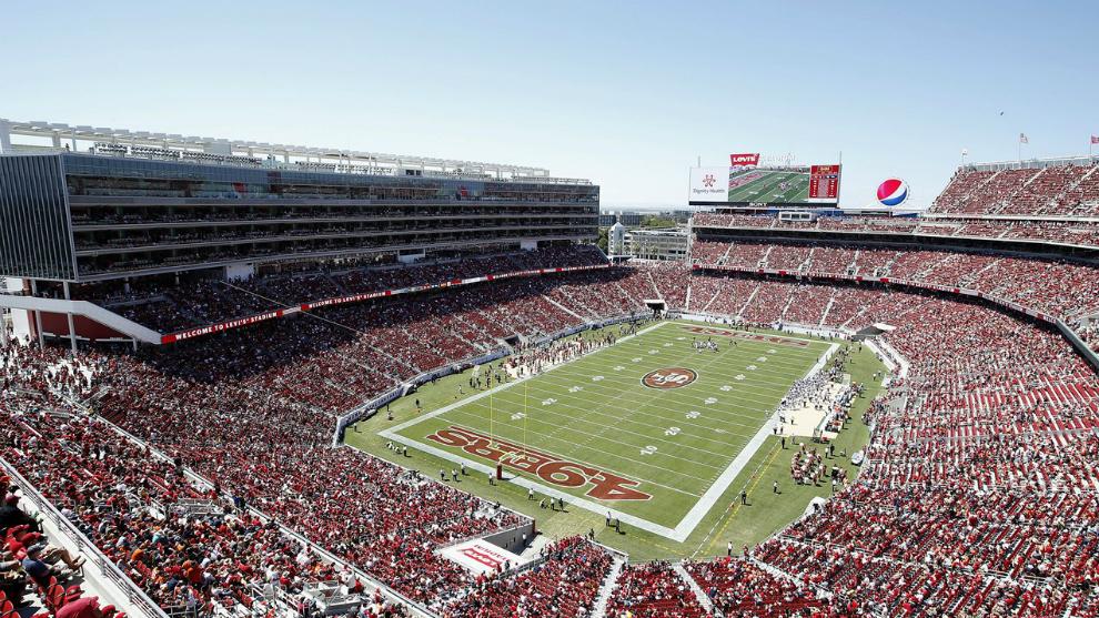 El Levi's Stadium de Santa Clara, provincia de San Francisco...
