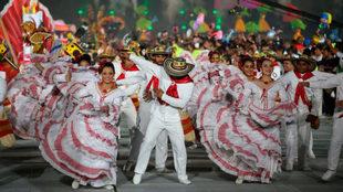 Así se despidió Barranquilla de los Juegos Centroamericanos.