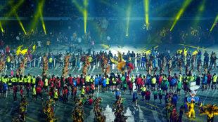Barranquilla despidió al ritmo de cumbia sus Juegos Centroamericanos.