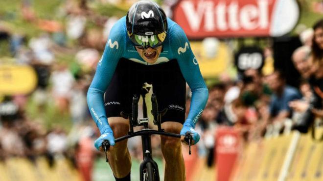 Marc Soler durante el reciente Tour de Francia.