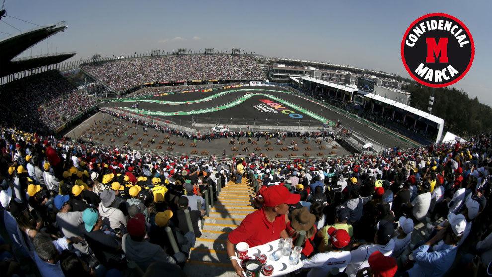 El circuito Hermanos Rodríguez.