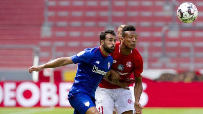 El Mainz jugó frente al Athletic este verano.