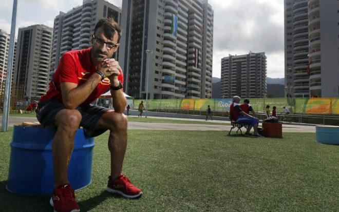 García Bragado, en los Juegos Olímpicos de Río.