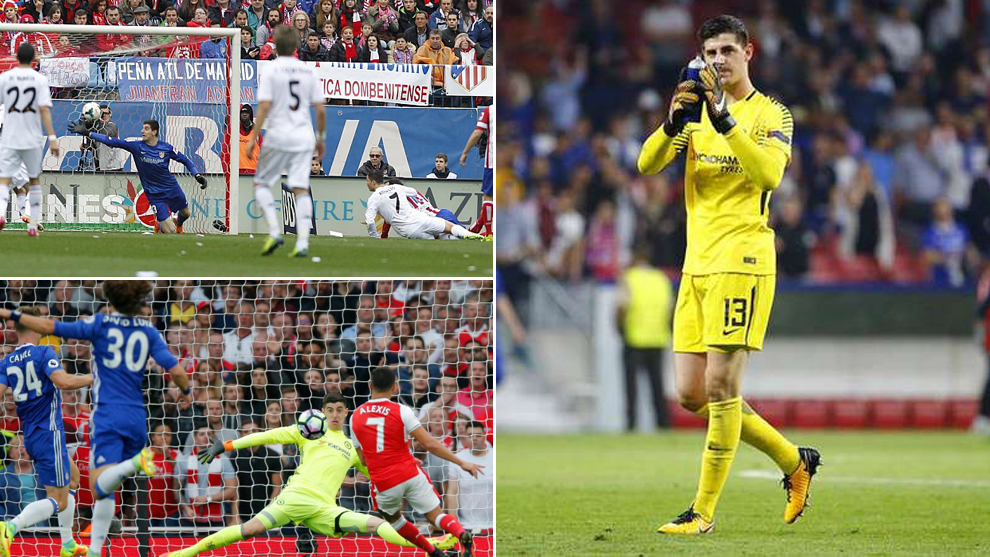 Thibaut Courtois' best five saves: Cristiano, Xavi, Alexis...