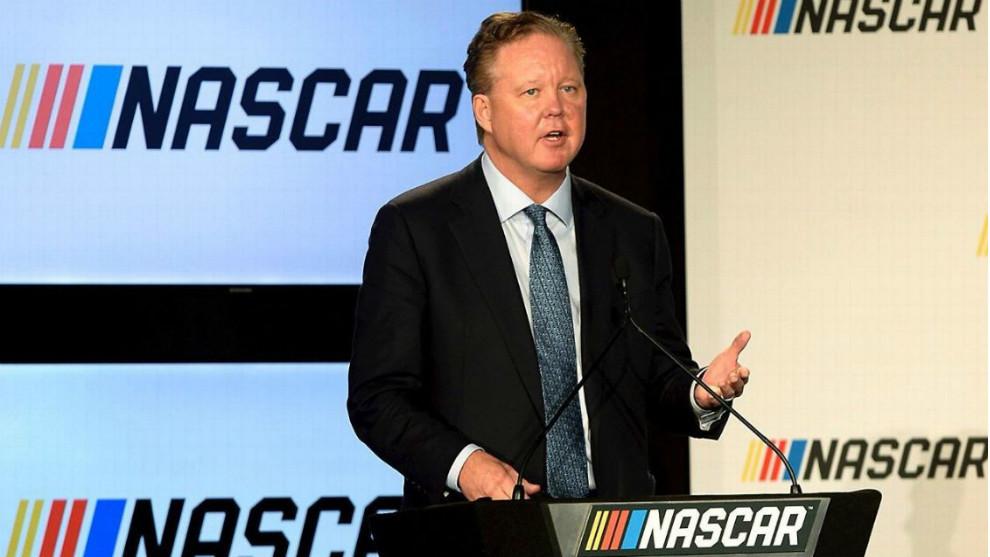 Brian France, CEO de la Nascar.