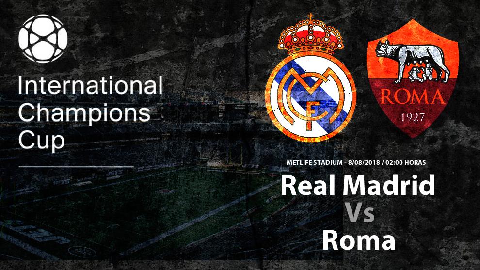 Real Madrid vs Roma - International Champions Cup - 08/08/18