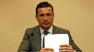 Amadeo Salvo, presidente del Ibiza, en una foto de archivo