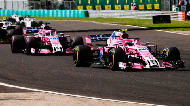 Salvan a Force India, la escudería de