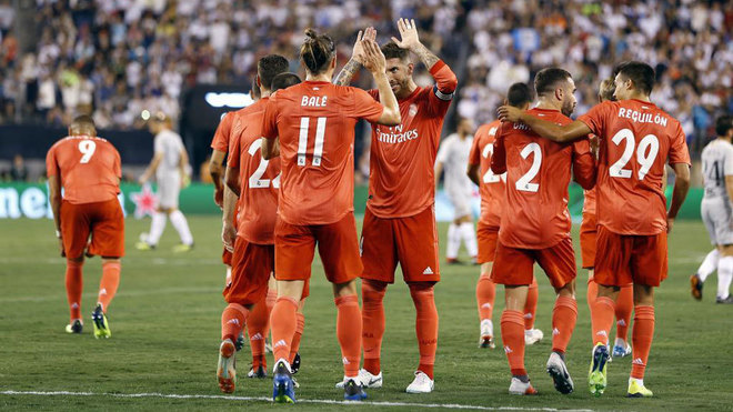 Real Madrid end U.S.  tour with 2-1 win over Roma