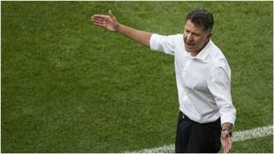 Osorio, en el partido ante Corea del Sur del Mundial.