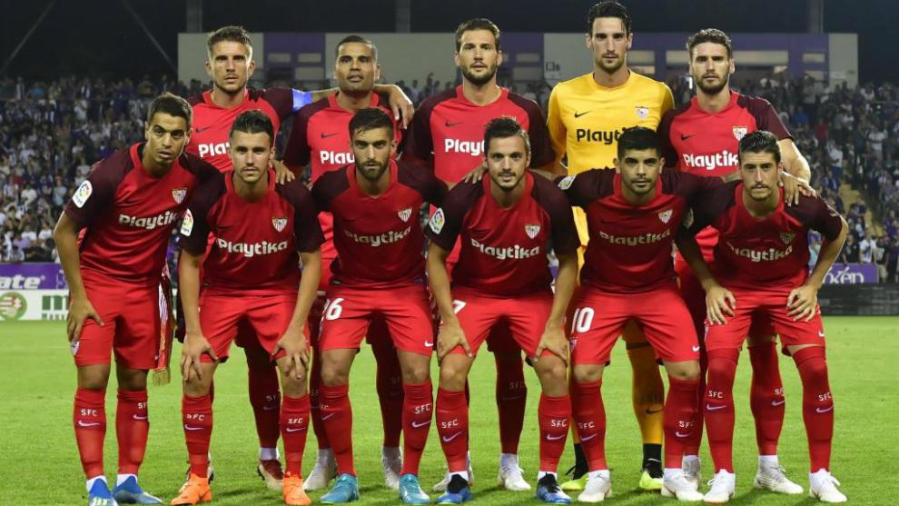 Alineación del Sevilla ante el Ujpest