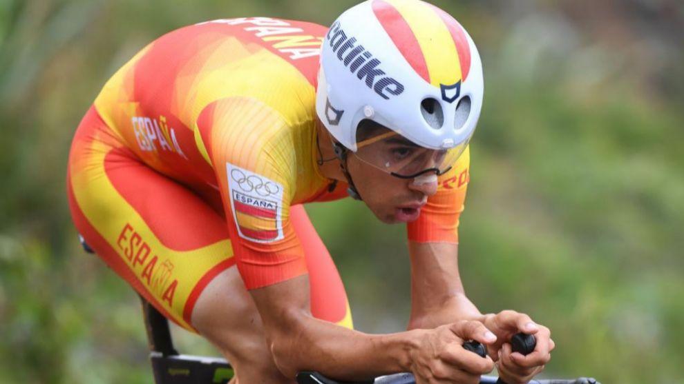 Jonathan Castroviejo compitiendo en los Juegos Olímpicos