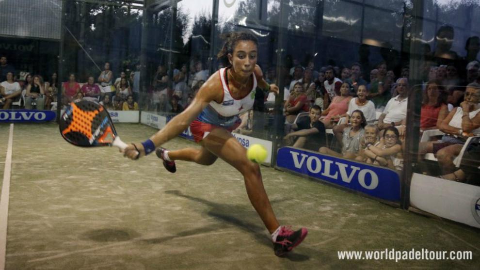 Bea González, en acción