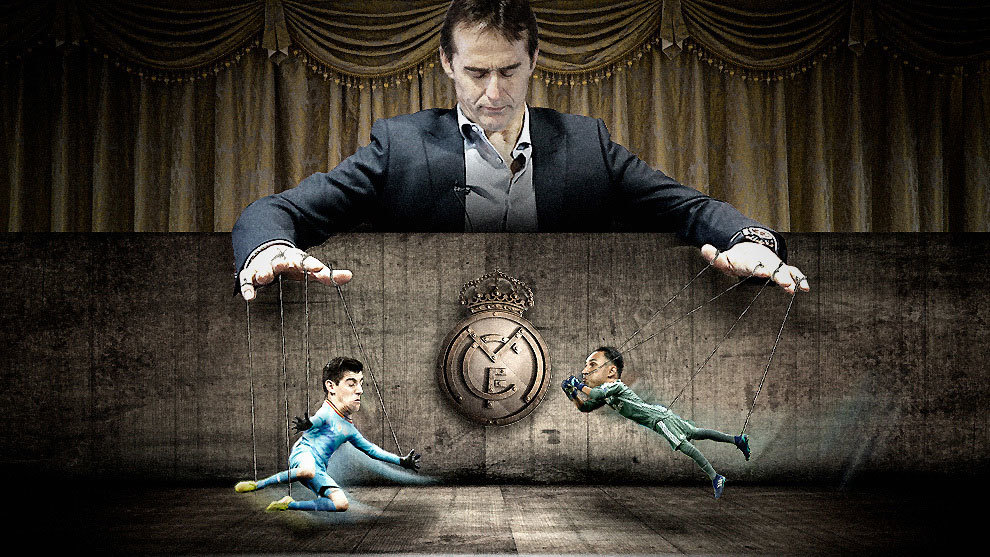 Lopetegui, Navas and Courtois