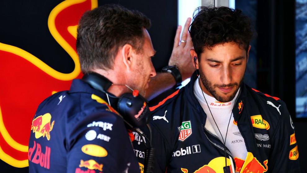Horner y Ricciardo