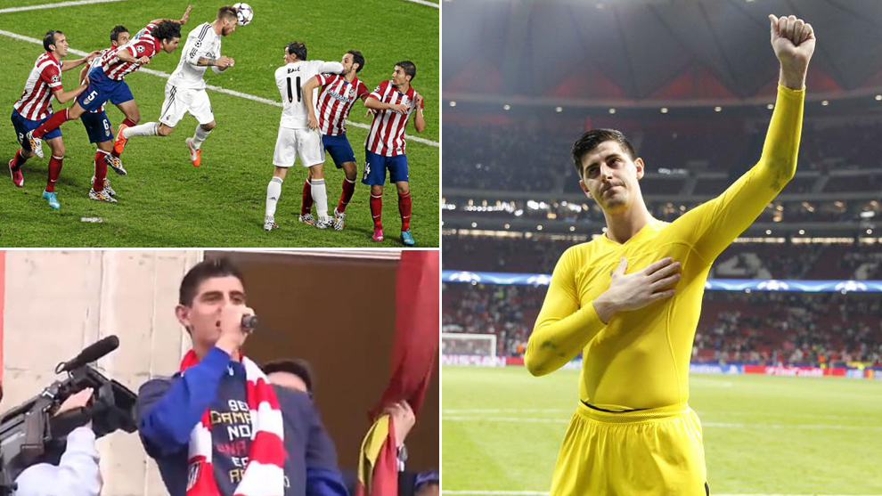 Courtois' eight pearls of wisdom at his press conference: Ramos' goal,...