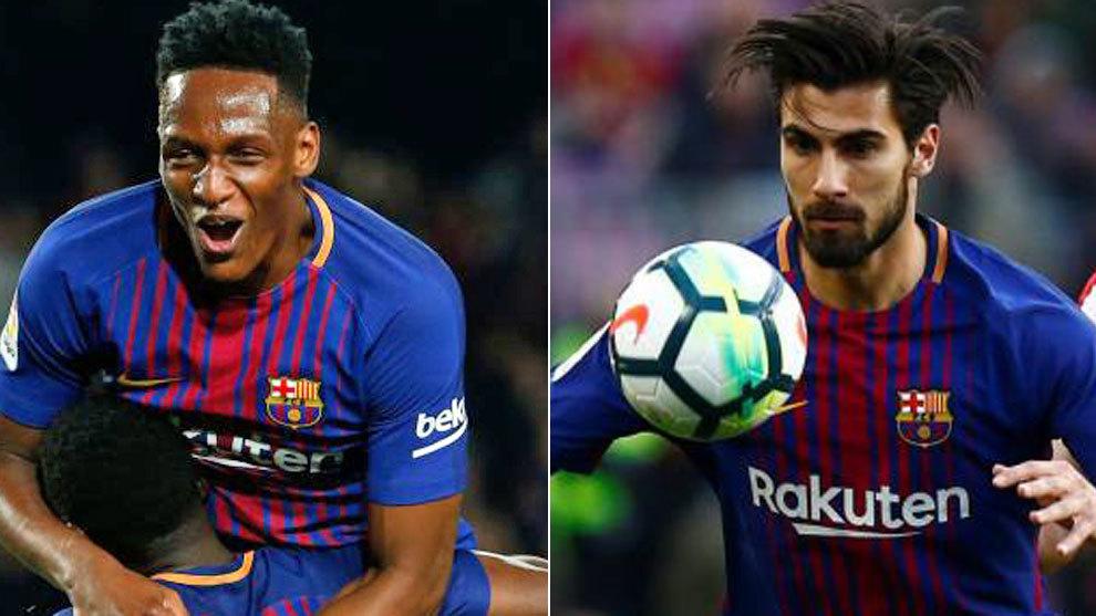 El Everton se lleva el 'pack': Yerry Mina y André Gomes