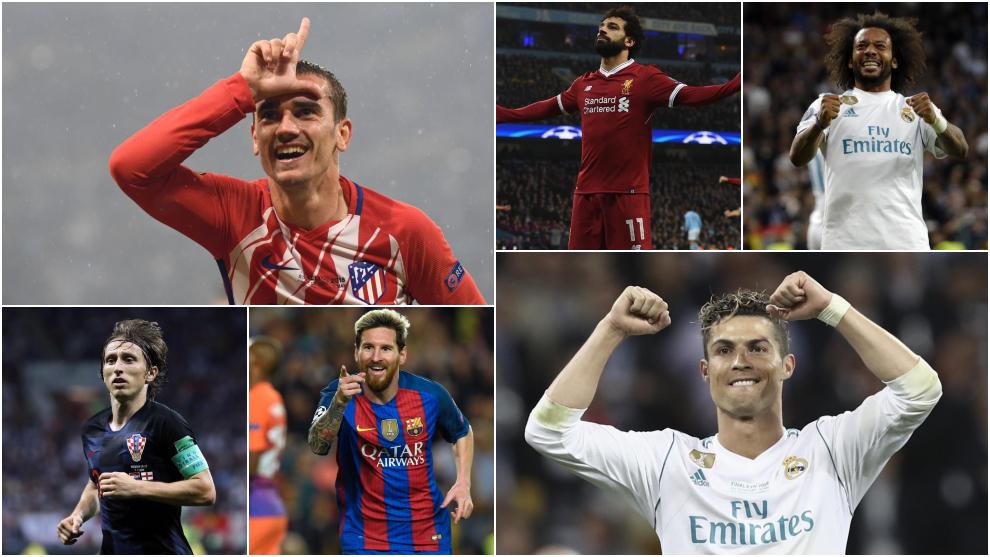 7f6011ce226f5 Nominados para los premios por posición de la UEFA Champions League 2017 18