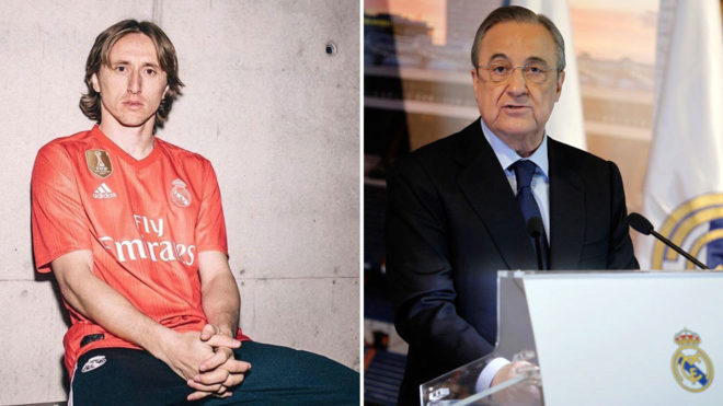 Modric pedirá a Florentino salir del Madrid y fichar por el Inter, según Onda Cero