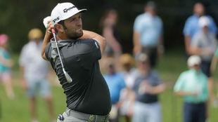 Jon Rahm, durante la primera jornada del PGA Championship.
