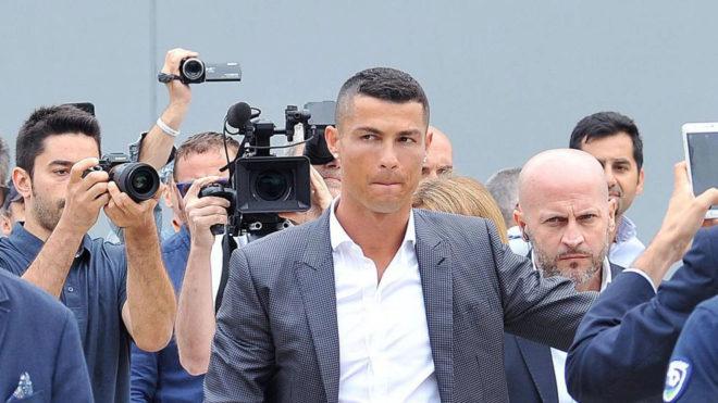 Cristiano Ronaldo anotó un gol en su particular debut con la Juventus