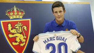 Marc Gual lucirá el dorsal 20.