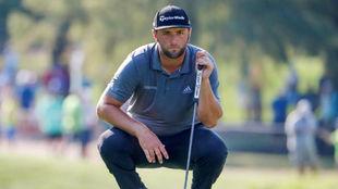 Jon Rahm, en un momento de la segunda jornada del PGA Championship.