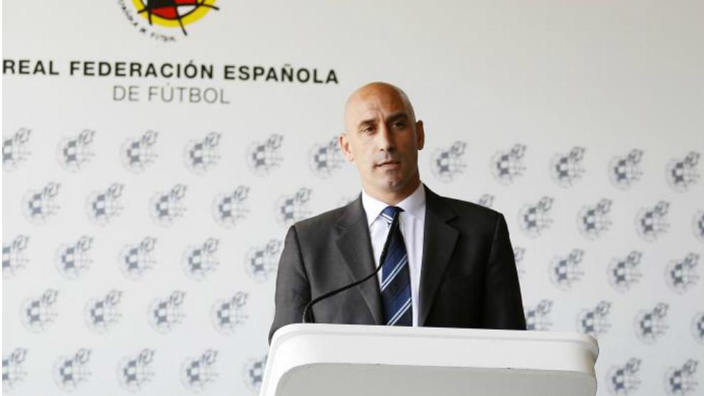Luis Rubiales, president of RFEF